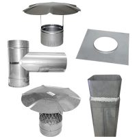 Rigid Chimney Liner Components - 304L